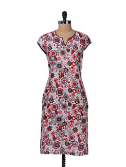 Cotton Printed Kurta - Tops And Tunics