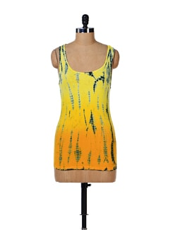 Batik Print Tank Top - House Of Tantrums