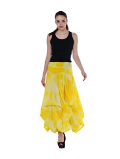 Batik Print Long Skirt - House Of Tantrums