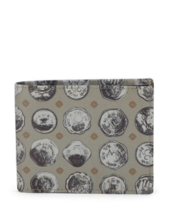 Old Coins Print Wallet - Mad(e) In India