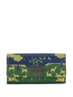 Gond Art Print Clutch - Mad(e) In India