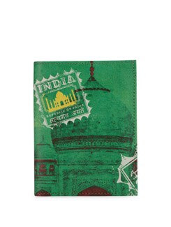 Taj Print Passport Holder - Mad(e) In India