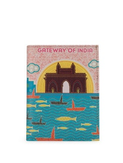 Gateway Of India Print Passport Holder - Mad(e) In India