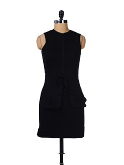 Black Sporty Dress - GRITSTONES
