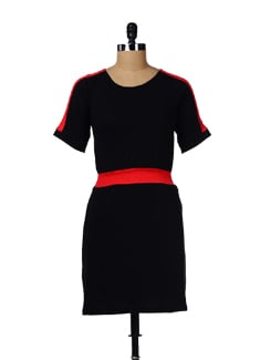 Two-tone Cotton Dress - GRITSTONES