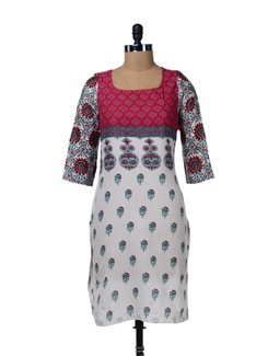 Cotton Printed Kurta - W