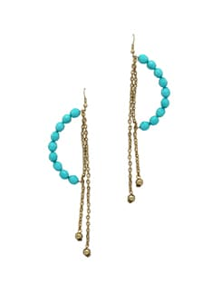 Bow Bead Earring - Blend Fashion Accessories