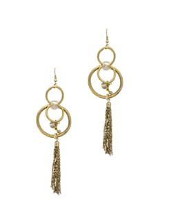 Circular Chain Earring - Blend Fashion Accessories