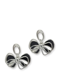 Twice Bow Earring - Blend Fashion Accessories