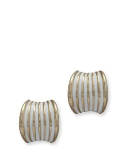 Striped Classic Earring - Blend Fashion Accessories