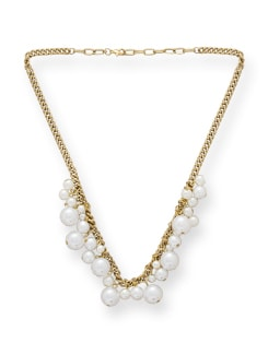 Dropped Pearl Necklace - Blend Fashion Accessories