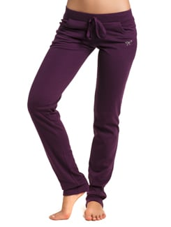 Purple Comfy Sweat Pants - PrettySecrets
