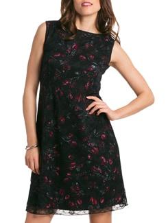 Scarlett Printed Lacy Dress - PrettySecrets