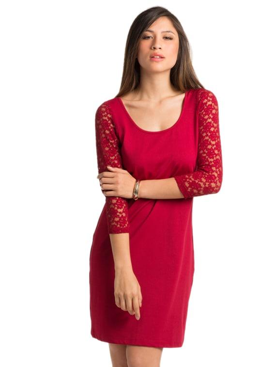 Scarlet Sexy Lace Dress - PrettySecrets