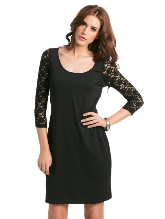 Black Sexy Lace Dress - PrettySecrets