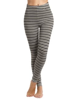 Lurex Stripe Leggings - PrettySecrets