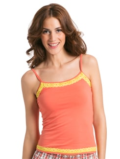 Orange Cami Top - PrettySecrets
