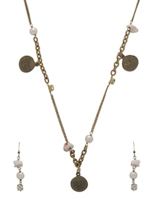Stylish Butterfly Jewellery Set - Ivory Tag