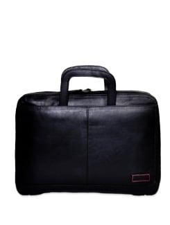 Designer Black Briefcase - Brune