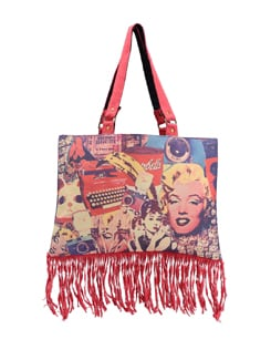 Hollywood Fashion Shoulder Tote Bag - The House Of Tara