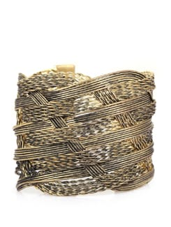Trendy Gold Bangles - Set of 5 - THE PARI