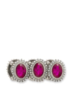 Fancy Pink & Silver Bracelet - THE PARI