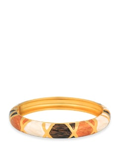 Gold Plated Funky Bracelet - Jewellery By Just Women