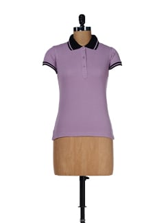 Cute Casual Polo Tee - Femella