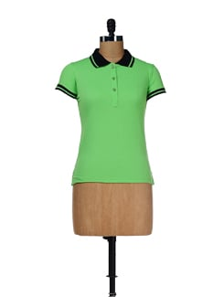 Summer Casual Polo Tee - Femella