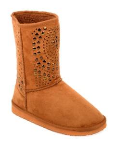 Stylish Suede Tan Boots - Carlton London