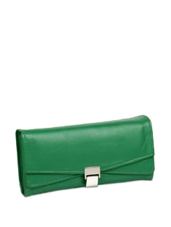 Emerald Green Wallet - ALESSIA