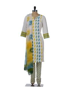 Multicoloured Suit With Ambi Print - KILOL