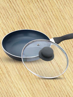 24cm CSG Frying Pan With Lid - Cook N Style