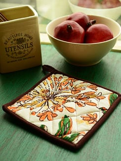 Vibrant Printed Pot Holder - HOUSE THIS