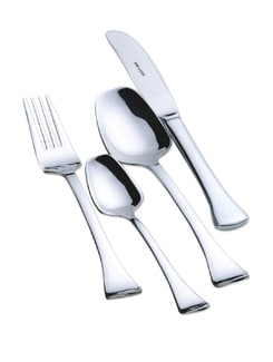 Silver Paramount Cutlery Set - 24 Pieces - Awkenox