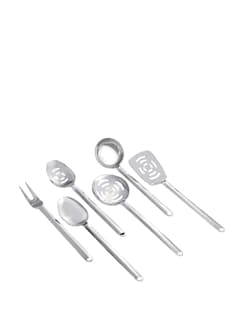 Silver Royal Kitchen Tools Set - 5 Pieces - Awkenox
