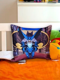 Dark Knight Cushion Cover - Warner Brothers By Mesleep