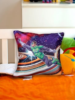Gren Lantern Cushion Cover - Warner Brothers By Mesleep