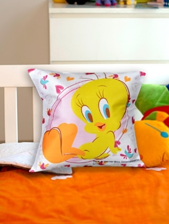 Bedtime Tweety Cushion Cover - Warner Brothers By Mesleep