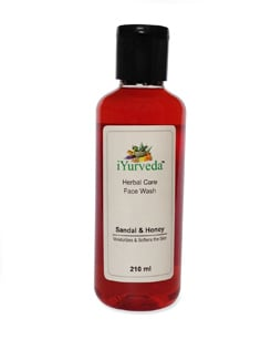 Sandal And Honey Herbal Face Wash - IYurveda