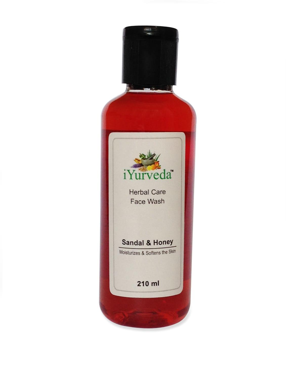 Sandal And Honey Herbal Face Wash - IYurveda