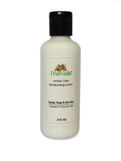 Sandal,Kesar And Aloe Vera Moisturizing Lotion - iYurveda