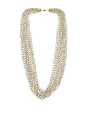 Multiple String and Beads Neckpiece -  online shopping for Necklaces