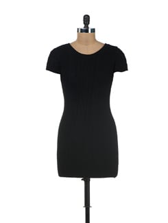 Black Acrowool Dress - SPECIES