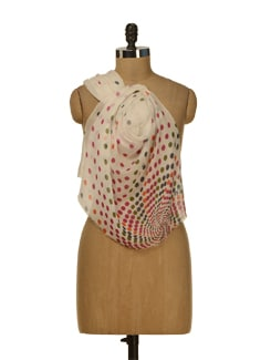 Cute Polka Dotted Scarf - HOS Designs