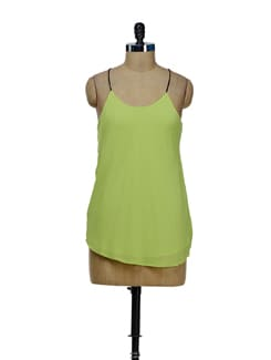 Trendy Lime Green String Top - Besiva