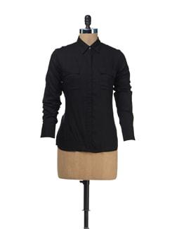 Classic Black Shirt - Femella