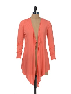 Coral Chic Shrug - Color Cocktail