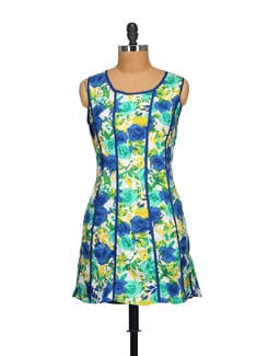 Floral Print Dress - STYLE QUOTIENT BY NOI