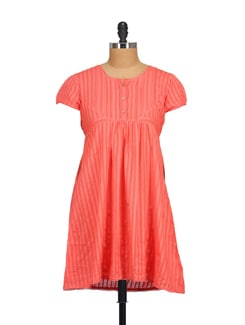 Pink Lace Dress - STYLE QUOTIENT BY NOI